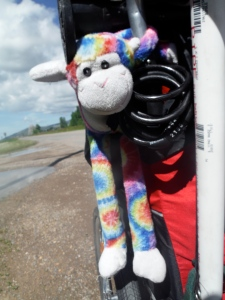 A roadside find turned hikers' mascot...